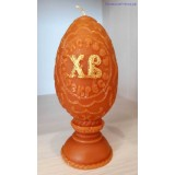 Свеча яйцо на пасху (большое)